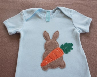 Bunny and Carrot Onesie