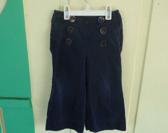 Navy Blue Bell Bottom Pants Size 3T