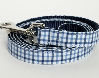 Preppy Plaid Dog Leash