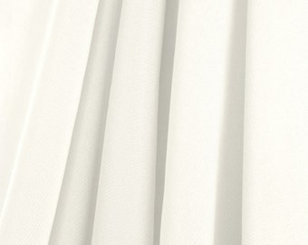 Ivory Chiffon Fabric - by the Yard