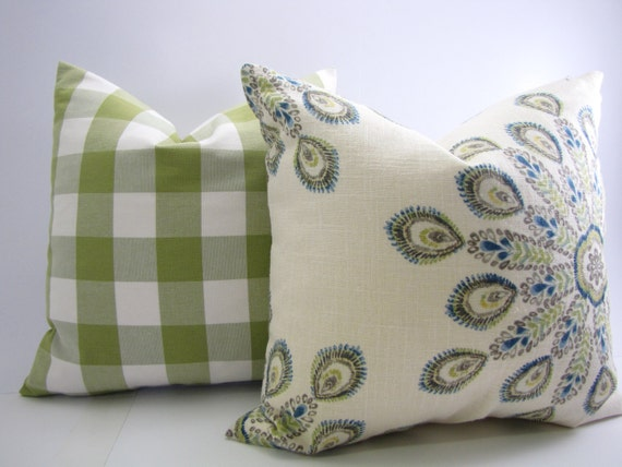 15x15 Throw Pillow Cover : Items similar to Decorative Pillow Cover-Throw Pillow-Accent Pillow-Home and Living 15x15-16x16 ...