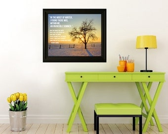"""In the Midst of Winter Eternal Sunshine - Giclee Print 16"""" x 20"""""""