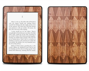 Wood Carvings Pattern - Kindle 2014 / Fire HD 8.9 / 2012 / Fire / Paperwhite / Touch / 4 / Keyboard Decal Skin Cover