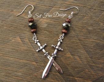 Epic Sword Earrings For Your Fandom