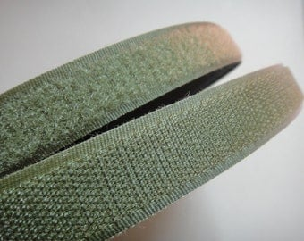 3/4'' Amy Green Sew On Velcro Hook and Loop Tape
