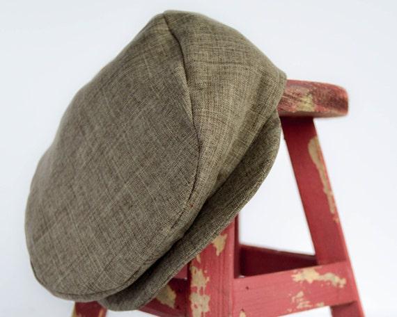 Newsboy Hat ; Traditional Brown Newsie Hat ; Boy Wedding Hat ; Ring Bearer Hat ; Brown Boy Hat ; TeamEtsyBABY