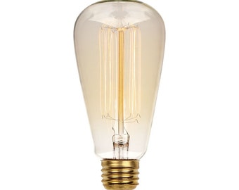 OVER STOCK Vintage Style Edison Squirrel Cage Light Bulb Edison Bulbs for Industrial Lighting