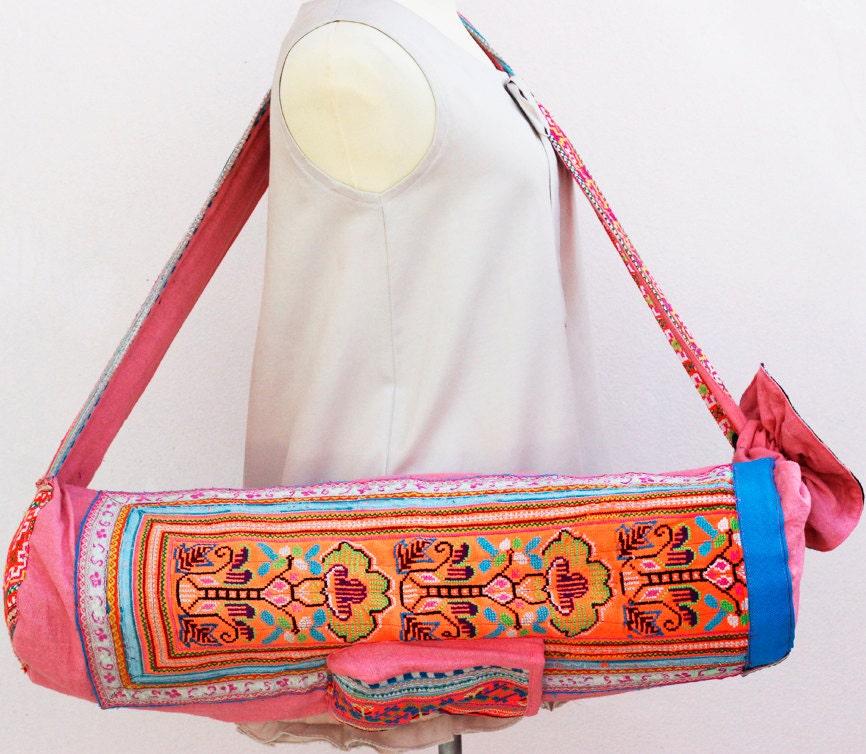 YOGA MAT BAG Yoga Bag Yoga Tote Yoga Bag Women Handmade