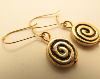 3902 -  Spiral Earrings