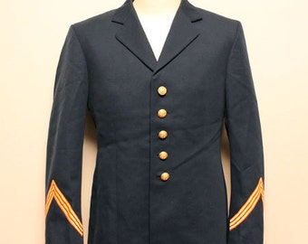 Deadstock 60's French  Marine  officcer jacket made in france