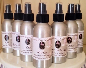 Moxie Aromatherapy Spray with Peppermint~Juniper~Rosemary