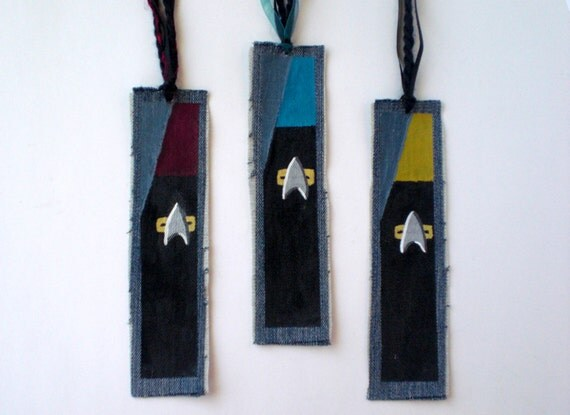 Starfleet Inspired Bookmark | Star Trek Gift Guide