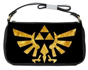 Zelda Purse, Small Golden Zelda Shoulder Purse