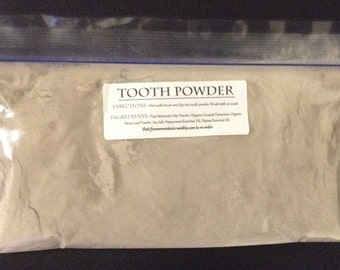 Remineralizing Clay Tooth Powder 2 oz. Refill