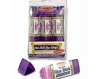 Sale!! Melissa & Doug Non Roll Glue Stick