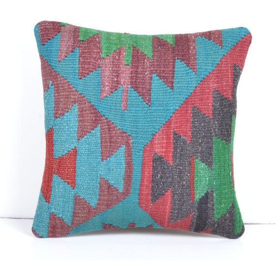 Inexpensive Modern Pillows : Items similar to discount decorative pillows colorful kilim pillows decorator floor cushions ...