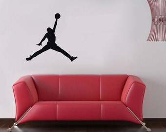 Michael Jordan Decal for your Home, Auto, or anywhere.