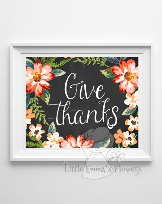Thanksgiving Classroom Wall Decor : Thanksgiving print wall art decor fall decoration