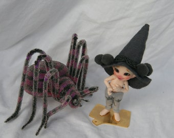 Realpuki wizard or witch set for Easter or Halloween