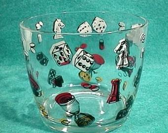 Ice Bucket Glass Gambling