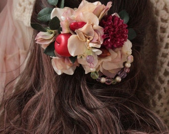 Forest barrette hair accessory