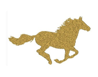 Horse Running Embroidery Design - 3 sizes