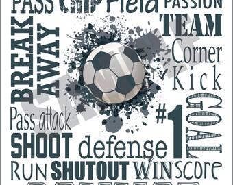 Custom Soccer Sign