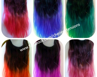 Balayage dip dye 8a remy the syn invisible hair extensions balayage dip dye 8a remy dip dye ombre balayage human invisible hair extensions flip in angel pmusecretfo Images