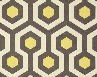 Grey Valance. Gray and Yellow  Trellis Valance .Curtain Valence.Custom Valence.