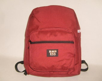 Backpack Book bag student style backpack top quality made to last Made in U.S.A.