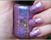 Magician's Assistant - Labracadabra Purple Glitter Nail Polish