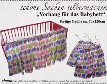 """ebook """"Vorhang Babybett"""""""
