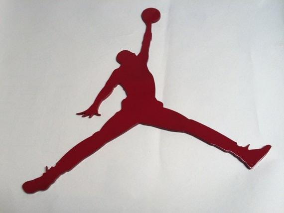 Nike Air Jordan Metal Sign Retro Jordan Xi Jumpman