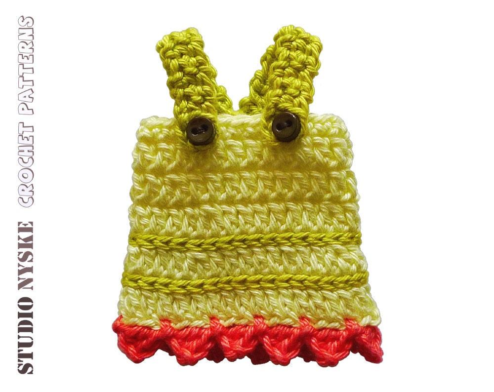 Amigurumi Clothes Pattern : Doll clothing PATTERN crochet dress amigurumi toy by ...
