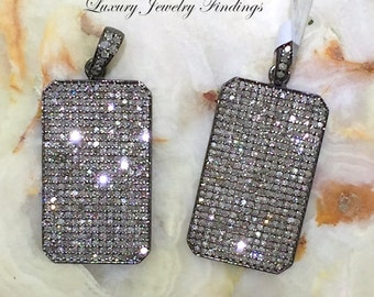 Micro Pave Diamond Pendant, Pave Diamond, Diamond Jewelry, Diamond Pendant, Pave Diamond Jewelry, Diamond Pendant Necklace