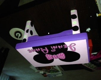 Minnie Mouse Stool with Expedited shipping for Kim