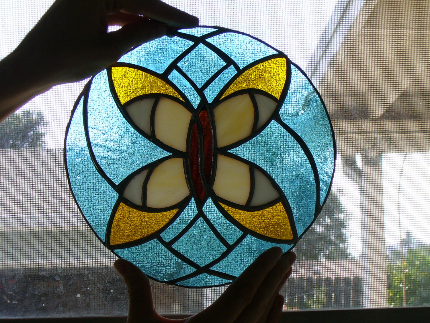Stained Glass Butterfly Pattern Stained Glass Butterfly