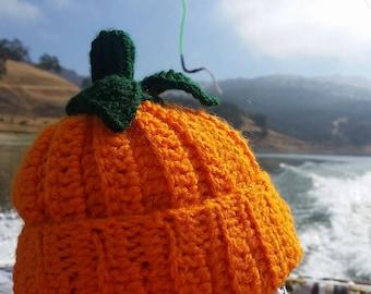 Slouchy Pumpkin Hat