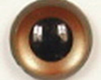 1 Pair 18mm Article UL323 Plastic Safety Eyes Round Pupils Metal Washers Teddy Bear Doll Puppet Soft Plush Toy Stuffed Animal Plushie Crafts