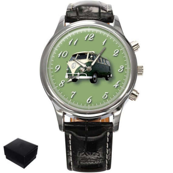 Volkswagen Vw Camper Van Gents Mens Wrist Watch Gift