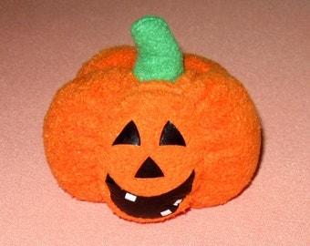 Jack o' Lantern Pin Cushion Halloween Pumpkin