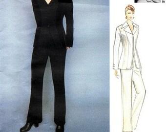 Vogue 1631 Knock 'Em Dead Jacket & Pants 1995 / SZ6-10 UNCUT