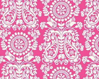 Global Bazaar Chimera Pink by Josephine Kimberling - 1 yard