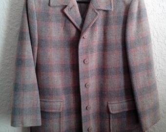 70's Pendleton Plaid Coat