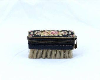 Adorable 40's sewing kit with brush