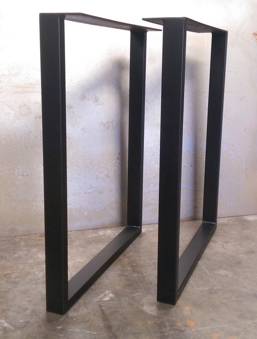 U shaped steel table legs