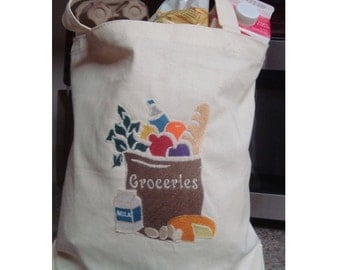 Re-usable eco-friendly Grocery Totes....grocery bags