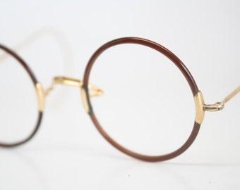 popular items for round eyeglasses on etsy. Black Bedroom Furniture Sets. Home Design Ideas
