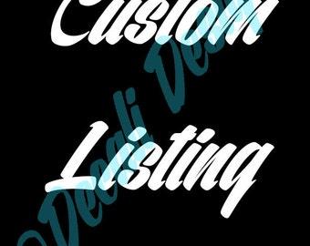 Custom Superman Logo Listing for cruiseellis904