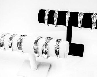 10 Bridesmaids Bracelets  Vintage Jewelry Bracelet, Spoon Bracelet, Silverware Bracelet, Wedding   bracelet, Spoon Jewelry